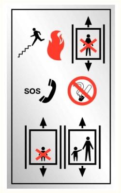 Consignes ascenseur