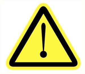 Attention danger