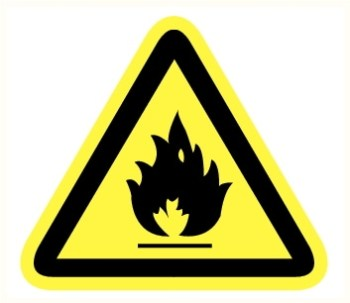 Matière inflammable