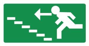 Vers escalier montant gauche