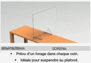 Hygiaphone en plexiglas
