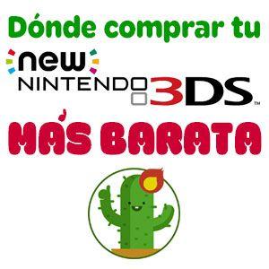Dónde comprar la Nintendo 3DS al mejor precio