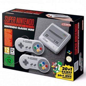 ¡Nintendo Super NES Classic Mini en stock y rebajada!