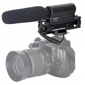 Micrófono de condensador tipo cañon para Nikon/Canon por sólo 21,60€