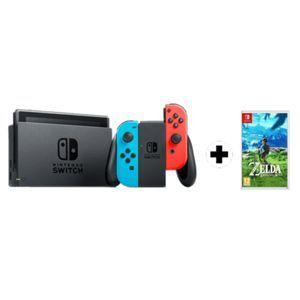 Pack Nintendo Switch + The Legend of Zelda: Breath of the Wild al precio mínimo histórico