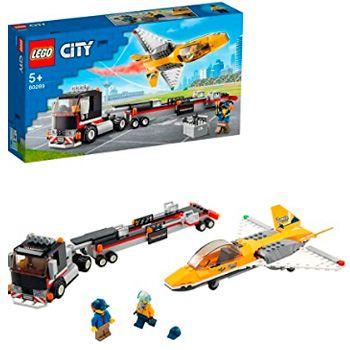 LEGO City Camión de Transporte del Avión Acrobático