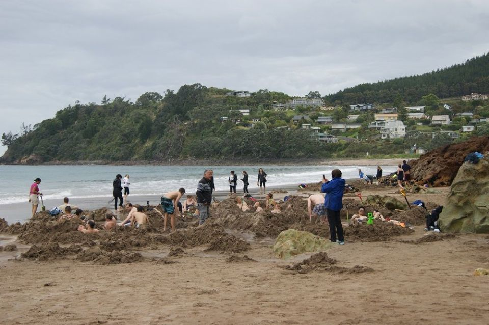 Hot Water Beach NZ