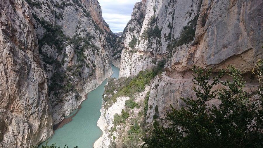 Desfiladero del congost de Mont-Rebei