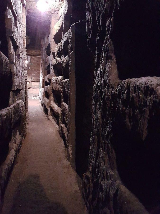 Galerias subterráneas San Calixto