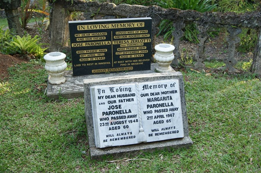 In memory of José & Margarita Paronella