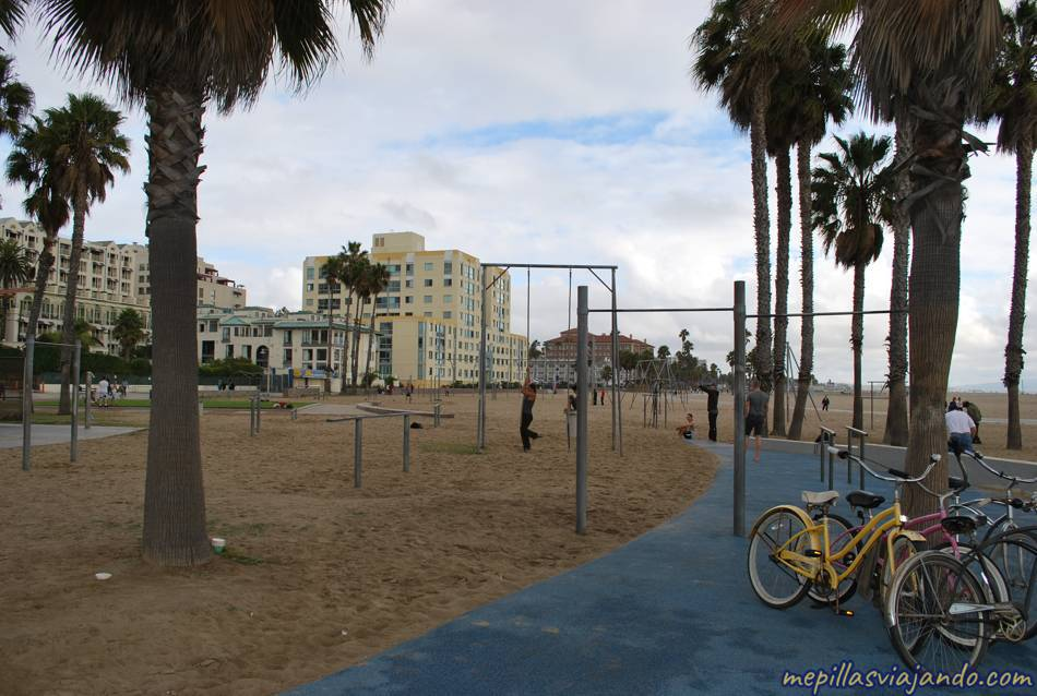 Los Ángeles, Muscle Beach