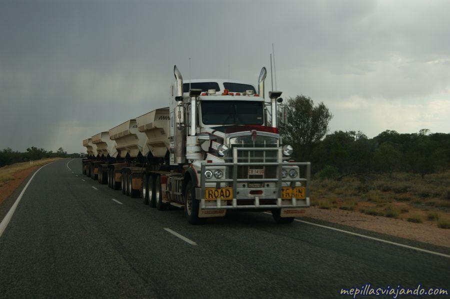 Road trip por el desierto australiano