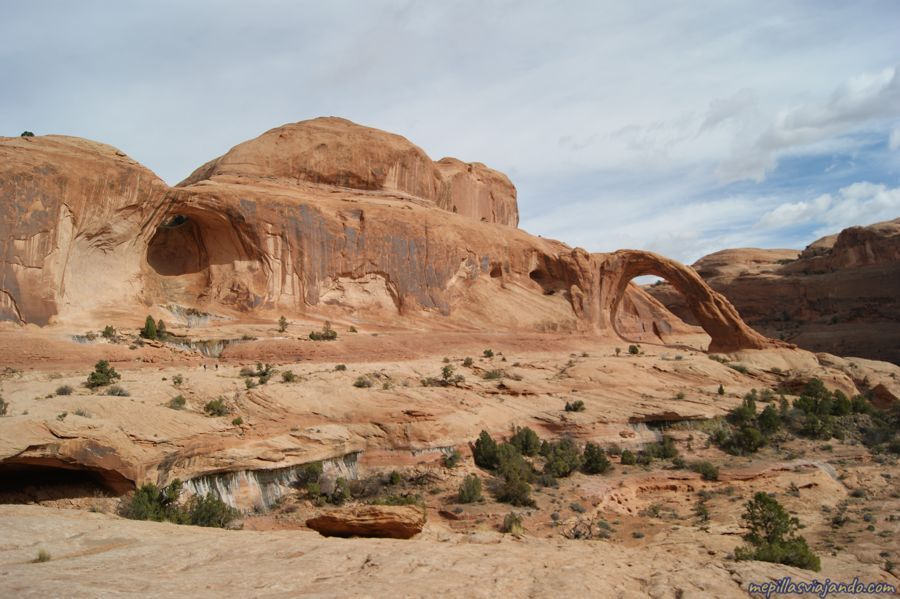 Senderismo cerca de Moab
