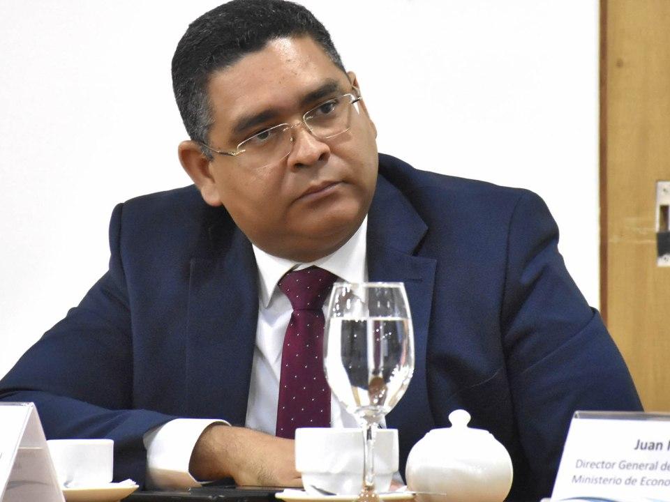 Alexis Cruz, director de la Unidad de Análisis Económico y Social