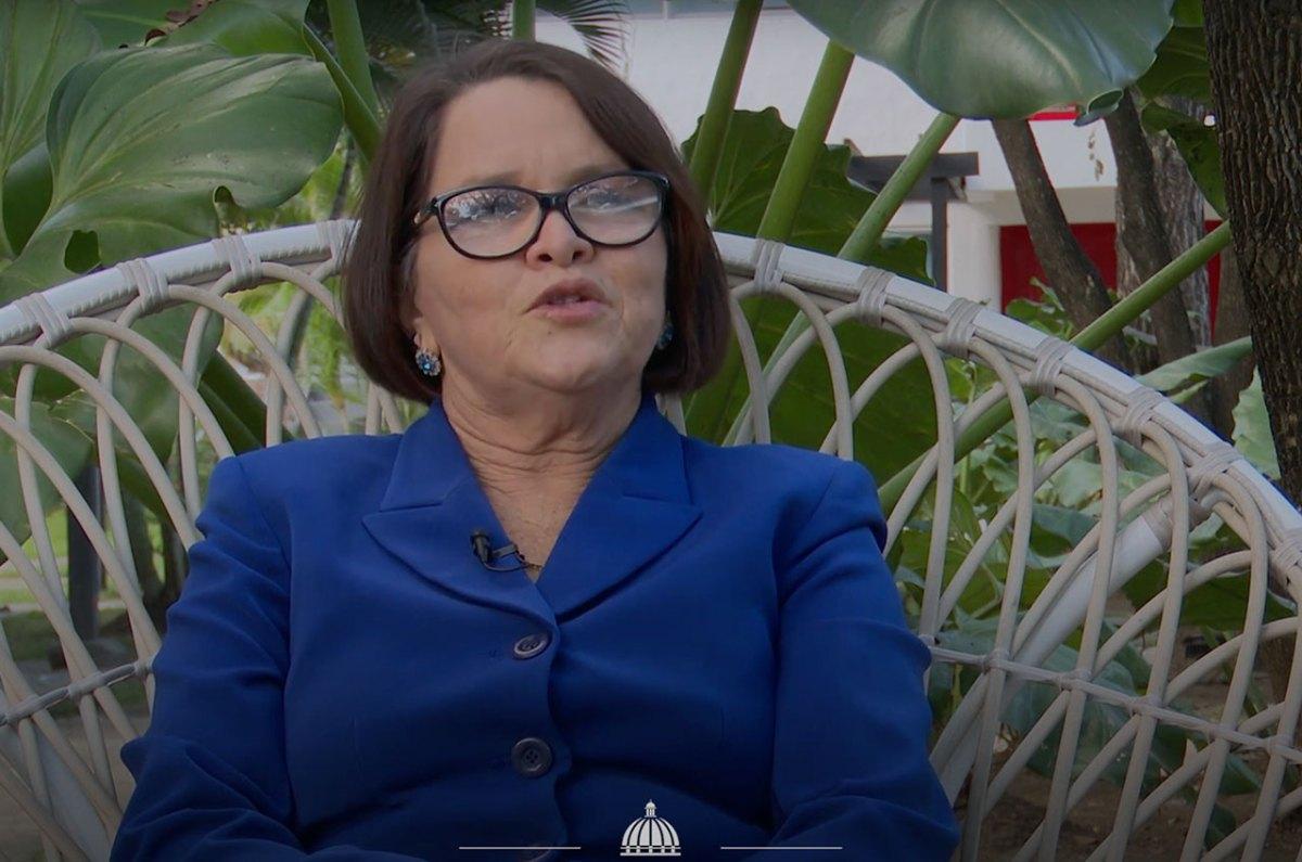 La gobernadora de la provincia Santiago Rodríguez, Ivelis del Carmen Almonte