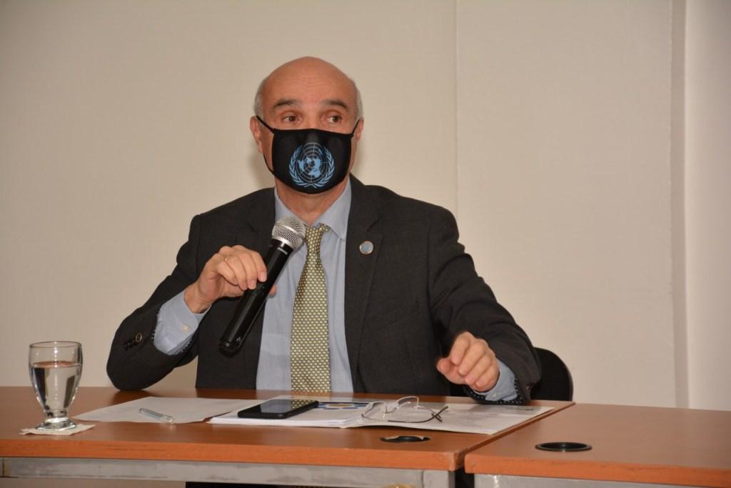 El coordinador residente del Sistema de Naciones Unidas, Mauricio Ramírez Villegas, valoró la consolidación de la democracia dominicana como activo importante para lograr los ODS.