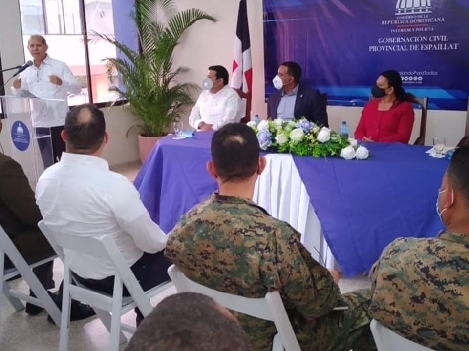 El viceministro de Ordenamiento Territorial y Desarrollo Regional de @MiecononomiaRD, Domingo Matías durante su disertación en Moca.