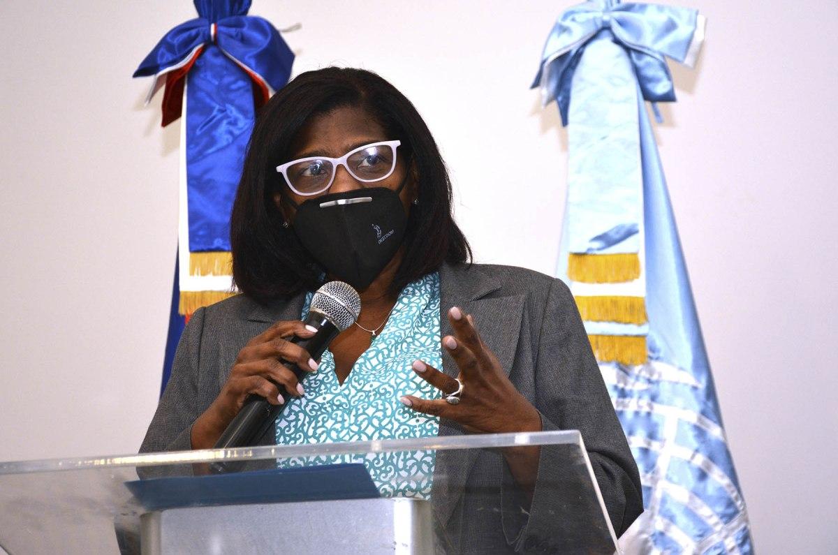 Sandra Lara, directora de Cooperación Multilateral del Ministerio de Economía, Planificación y Desarrollo.