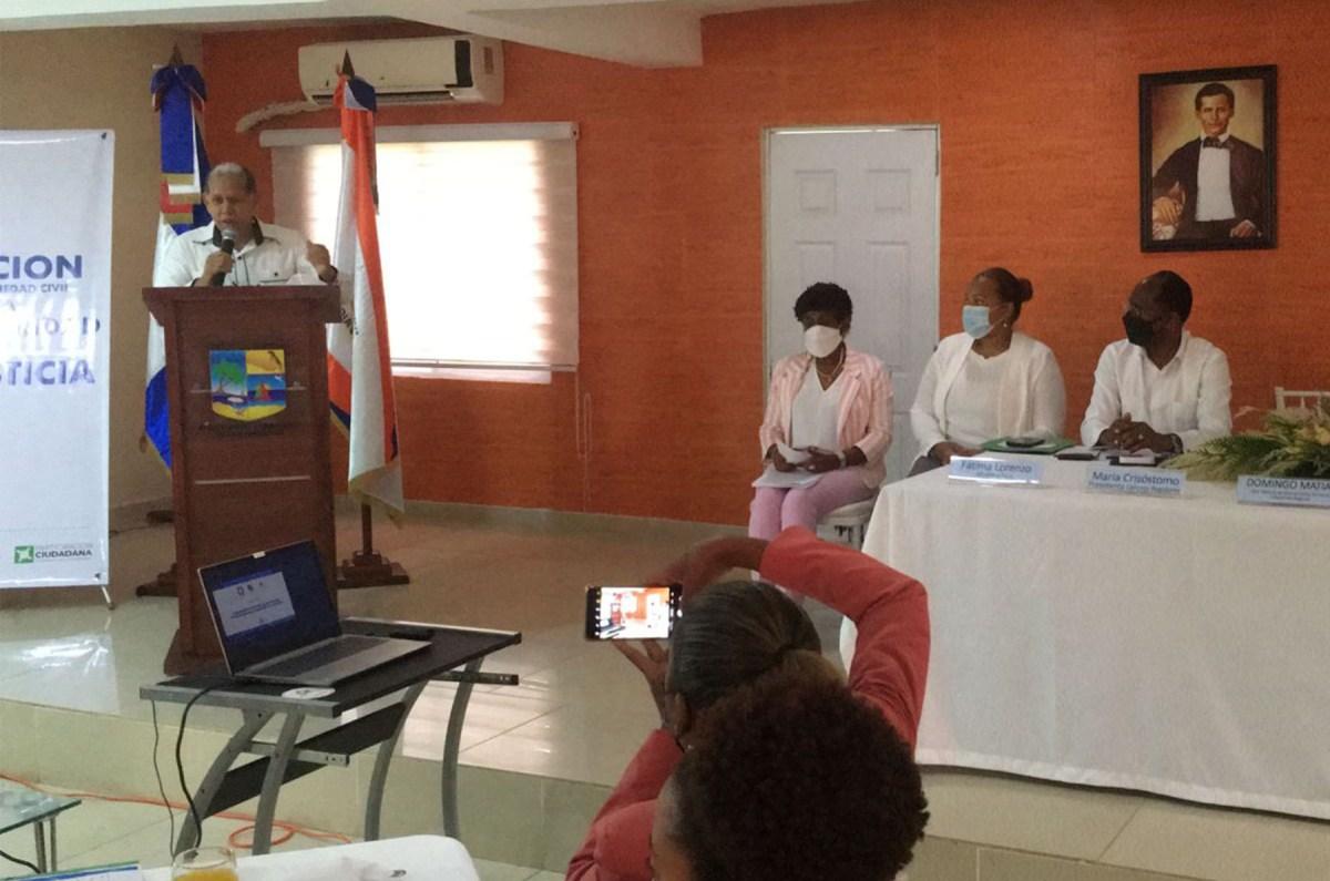 El viceministro de Ordenamiento Territorial y Desarrollo Regional, Domingo Matías, valoró el POMT como el instrumento idóneo para racionalizar el territorio y frenar las afectaciones del cambio climático en la zona.