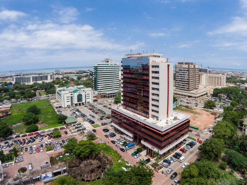 Heritage Tower Ghana's tallest buildings.