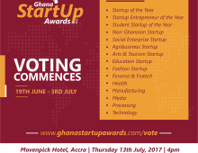 meQasa.com Nominated in 2017 Ghana Startup Awards