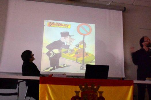 José CABRERO ARNAL, conteur, maître du trait et de l'image humoristique.