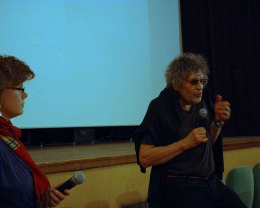 Elsa Le Nouys et Jean Ortiz présentent le documentaire