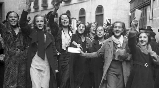 Les femmes espah,oles vottent