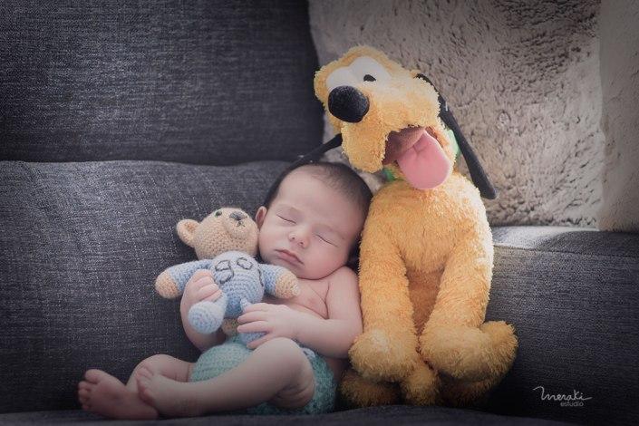 Fotografía personalizada recién nacido