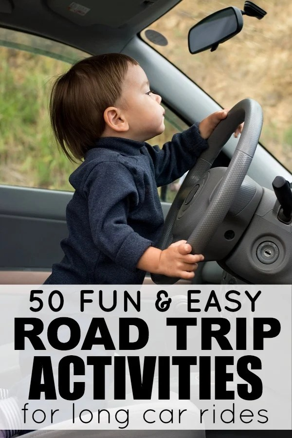 Long car rides can be challenging at the best of times, but if you throw a couple of toddlers or a baby, into the mix, it can be downright painful. That's why we've rounded up this collection of road trip activities for kids. It's loaded with things to do for children on family vacations that require a lot of time in the car as well as tips to make the journey as smooth as possible. From busy bags and scavenger hunts, you really want to miss out on this awesome list of kids activities!