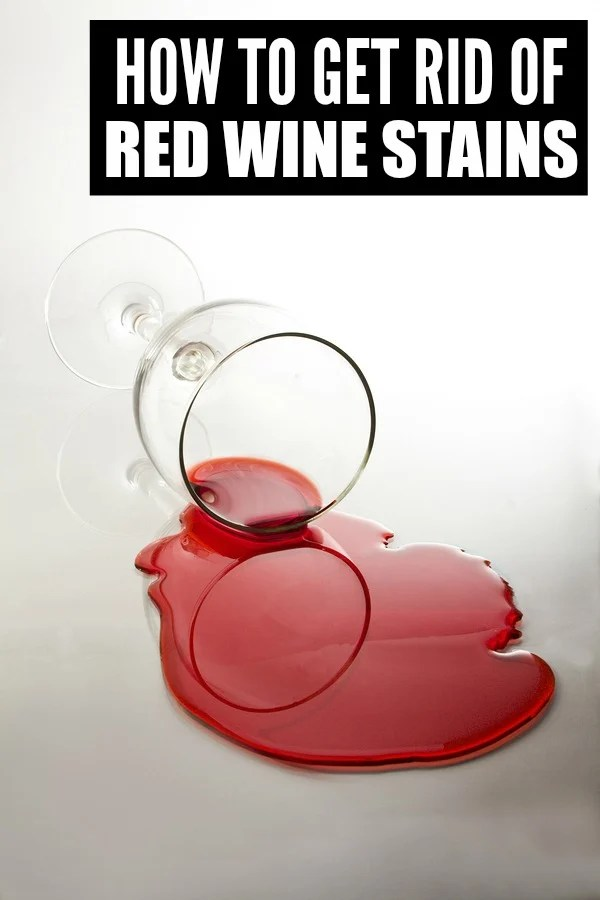 If you love red wine, but become extra clumsy when you drink like I do, you will appreciate this tip on how to remove red wine stains!