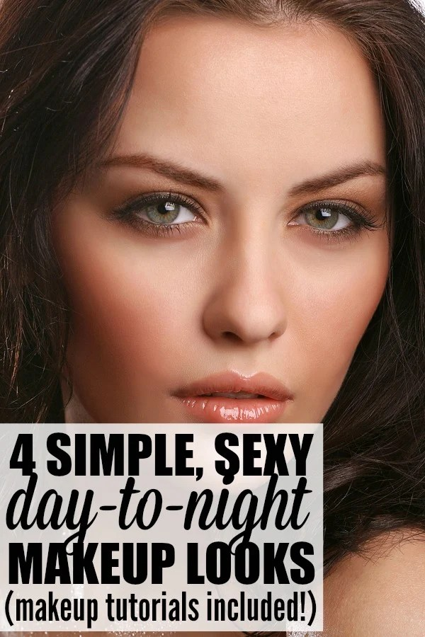 If you're looking for a simple daytime makeup routine that can easily transition into a sexy nighttime look when you're meeting the girls (or your special someone) for drinks and don't have a lot of prep time, these day-to-night makeup tutorials are for you!