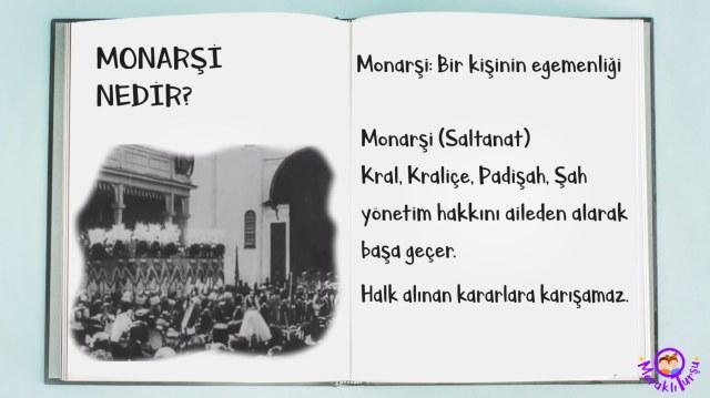 monarşi nedir? cumhuriyet tarihi, cumhuriyetin anlam ve önemi, saltanat nedir, Atatürk, Türkiye tarihi, özel günler, meraklı turşu