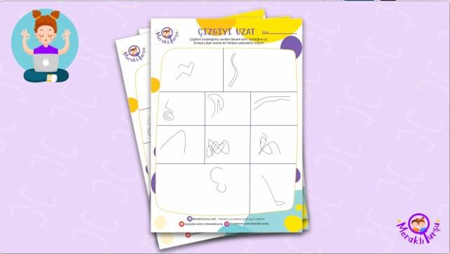 meraklı turşu, çizgiyi uzat, aktivite kağıdı, bu ne biçim sanat, çizim, karalama, yaratıcı, sanat, çocuk için, çocuklar için, ücretsiz,