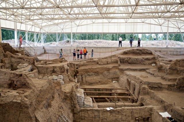Çatalhöyük, KOnya, mimarlık tarihi, çocuklar için bilgiler,
