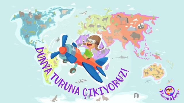 Meraklı Turşu Dünya Turu ile gezegenimizi tanımaya ne dersiniz? Bu sene sizler için şahane bir yolculuk planladık! İlk bölümde kıtalar, okyanuslar ve Türkiye'nin konumu hakkında bilgi edindiğimiz keyifli bir gezinti yapıyoruz.   #GezegenimiziTanıyalım #haritalar #ilkokul #kıtalar #okyanuslar #Türkiye  #fenbilgisi #hayatbilgisi