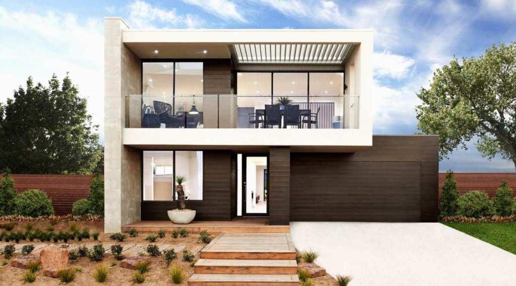 Casas Bonitas De 2 Pisos Con Terraza 20 Fachadas De Casas