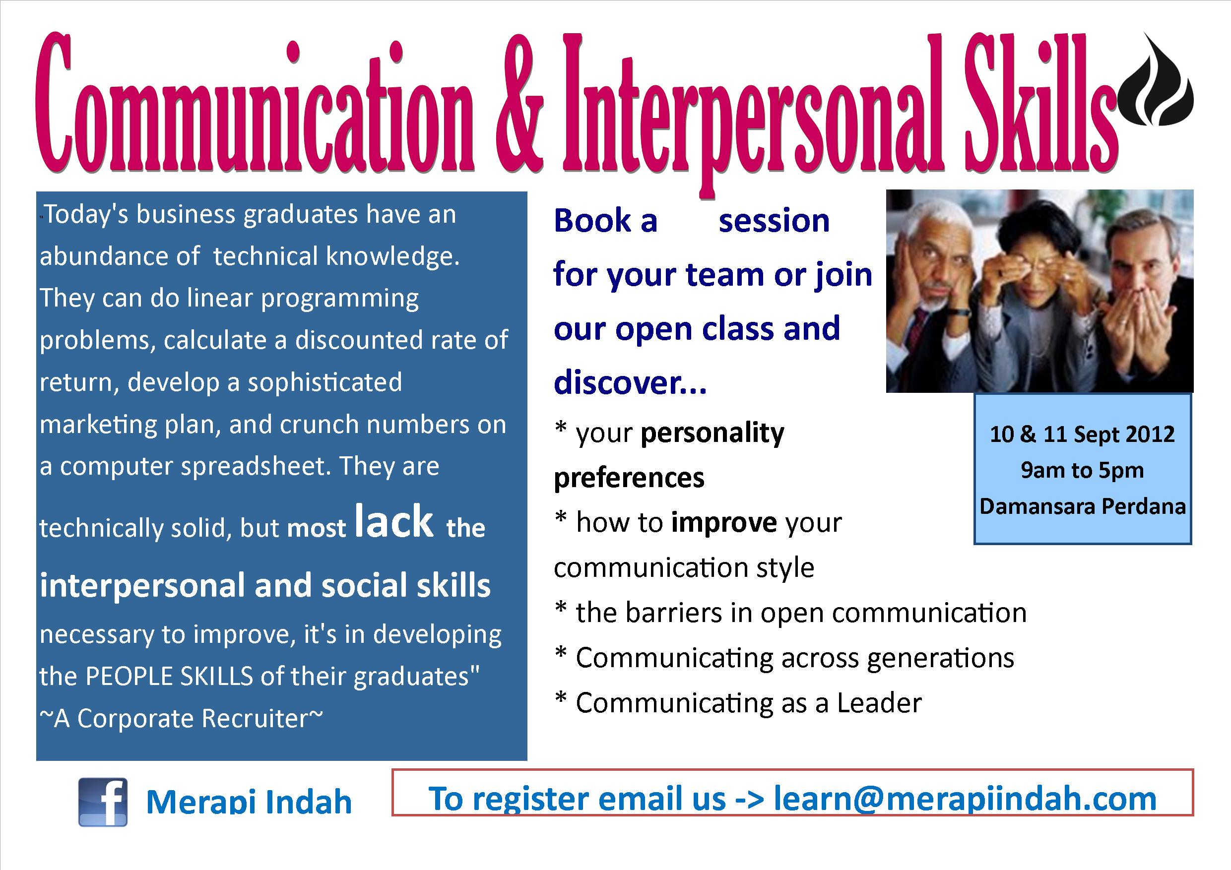 Interpersonal Skills In Business Communication 10
