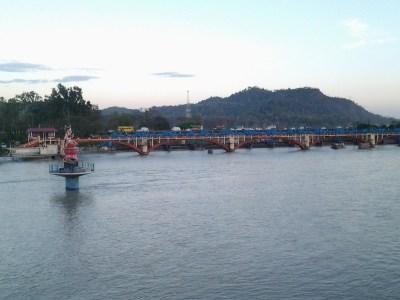 Beautiful scenery viewed from Ganga ghat