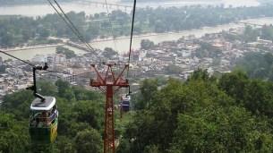 rope way to Mansa Devi