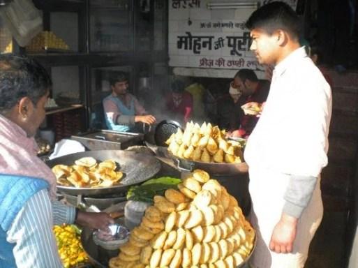 Food shop at Haridwar