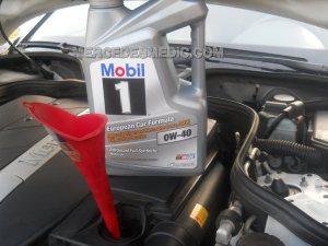 MercedesBenz Oil Change DIY Instructions