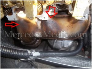 How to replace valve cover gasket on Mercedes E C CLK ML