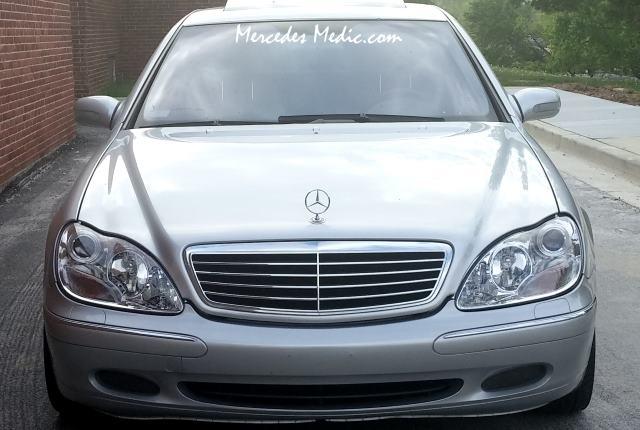 Mercedes Benz Light Bulb Replacement