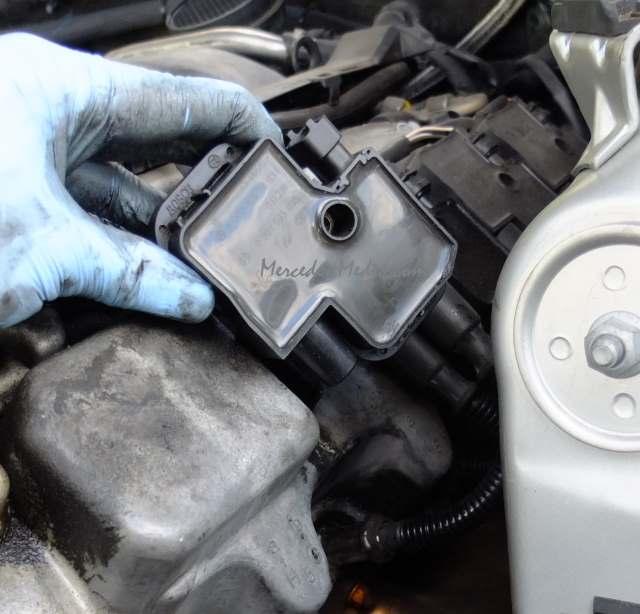 Removing Check Engine Light Bulb