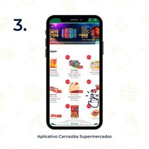 Produtos disponíveis no aplicativo