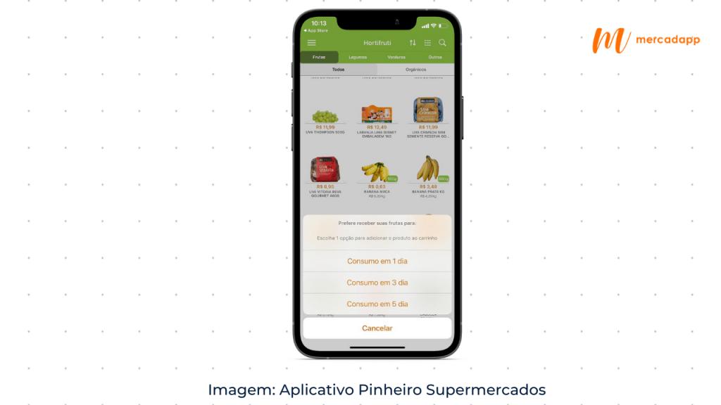 Aplicativo Supermercado Pinheiro