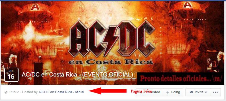 ac dc costa rica falsa ' Redes Sociales y su mal uso en Costa Rica