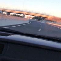 Honda Civic cola ponteiro nos 230km/h … e sofre um acidente