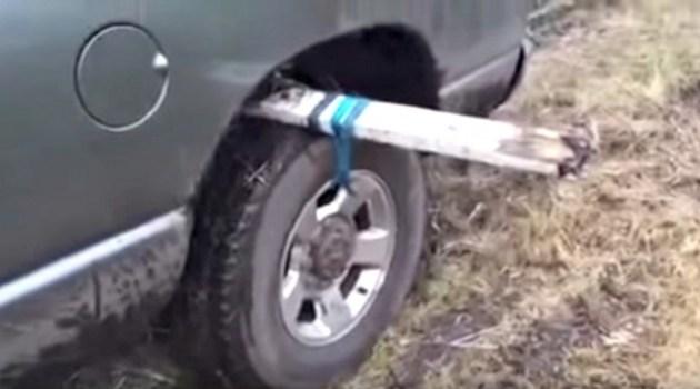 Aprende uma técnica infalível para desatolar seu carro